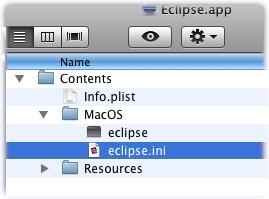 eclipse app packagecontent