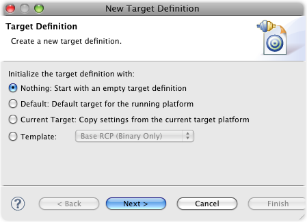 new target definition 1