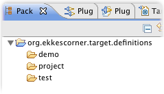 project ekkescorner target definitions