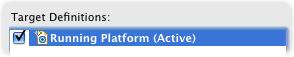 running platform active