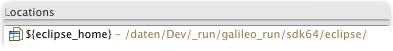 running platform location