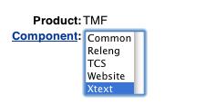 bugzilla TMF XTEXT