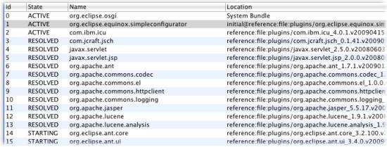 bundle monitor bundles