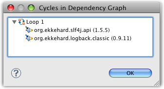 cycle dependency view loop1