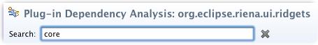 graph plug-in dependencies search