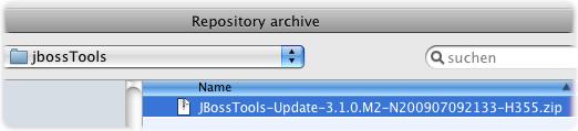jboss p2 install add archiv