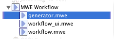 oaw5 mwe run configurations
