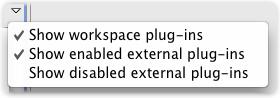 plug-ins select option