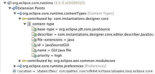 plugin-registry e core rt w extension points