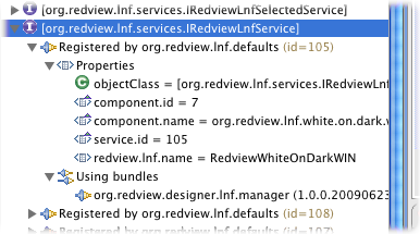 plugin-registry group by services DS example