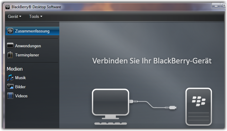 Installing BlackBerry Desktop Manager « mobile && more