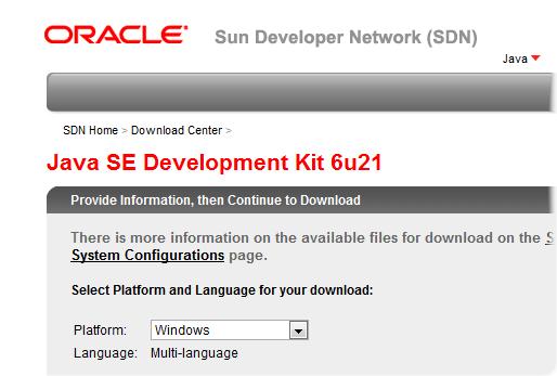 Install Java SDK for BB Development « mobile && more