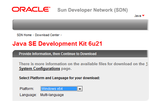 Install Java SDK for BB Development « mobile && more