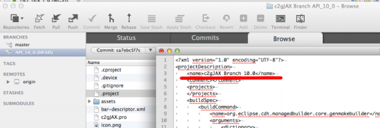 eclipse how to work on already existing git repository