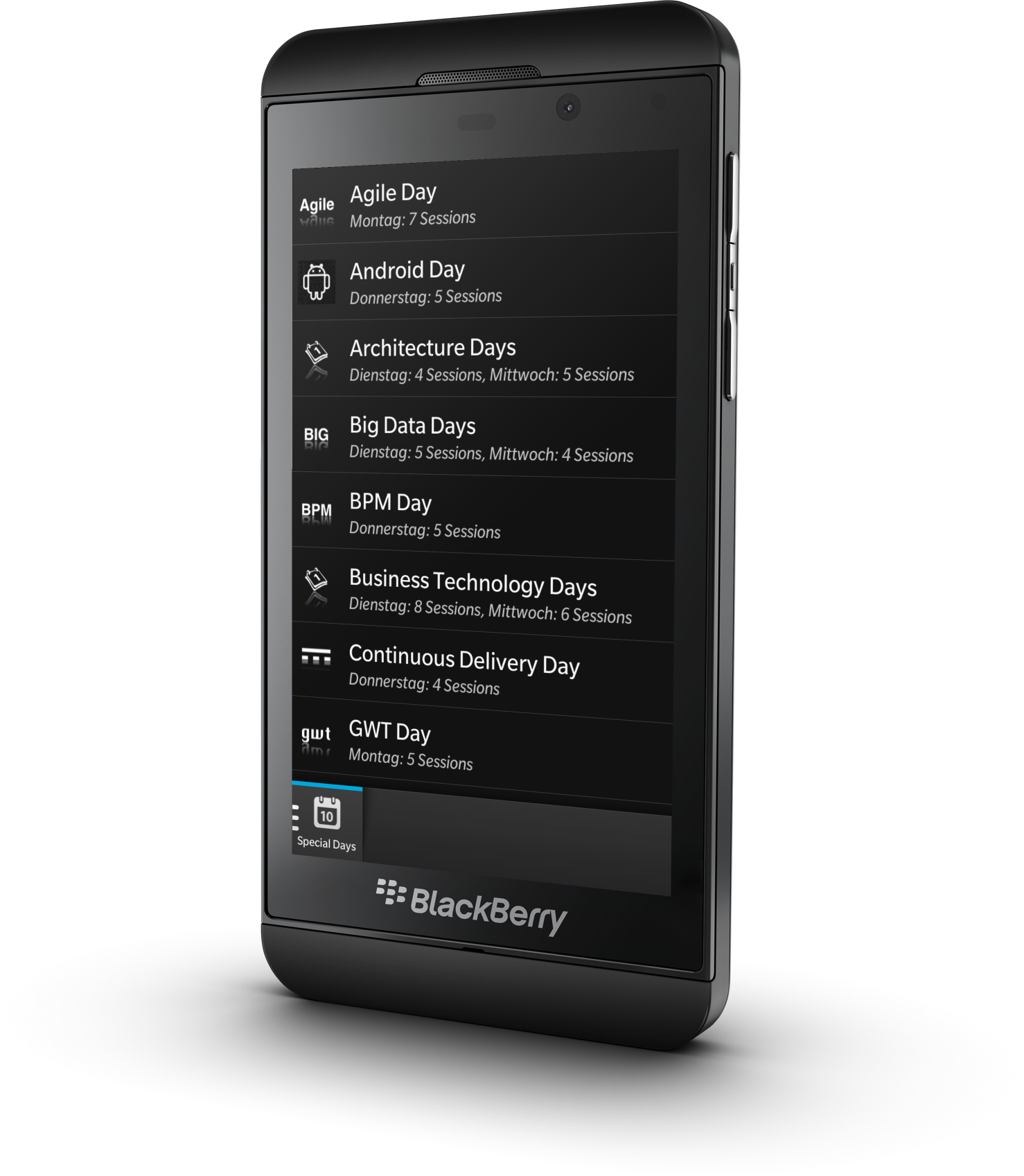 meet me blackberry app